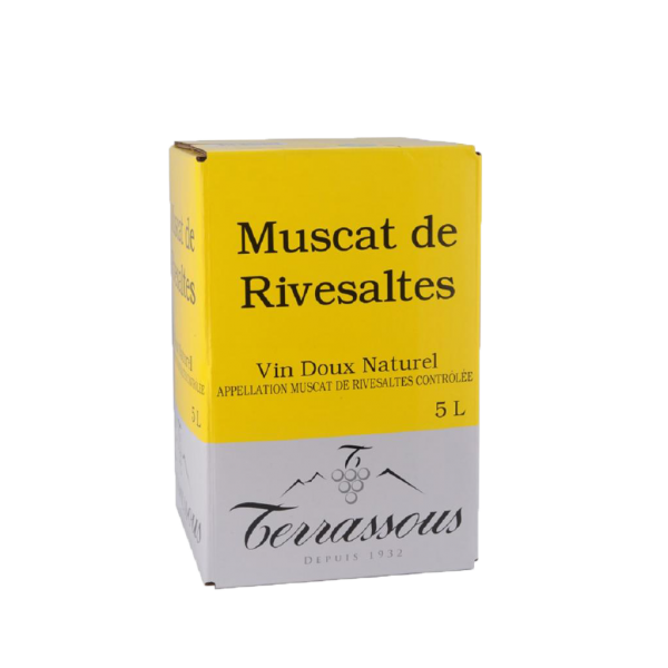Muscat de Rivesaltes 5 Litres fontaine de vin doux naturel