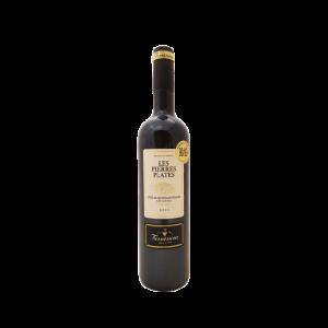 Les-Pierres-Plates-Rouge-2016-bouteille de vin