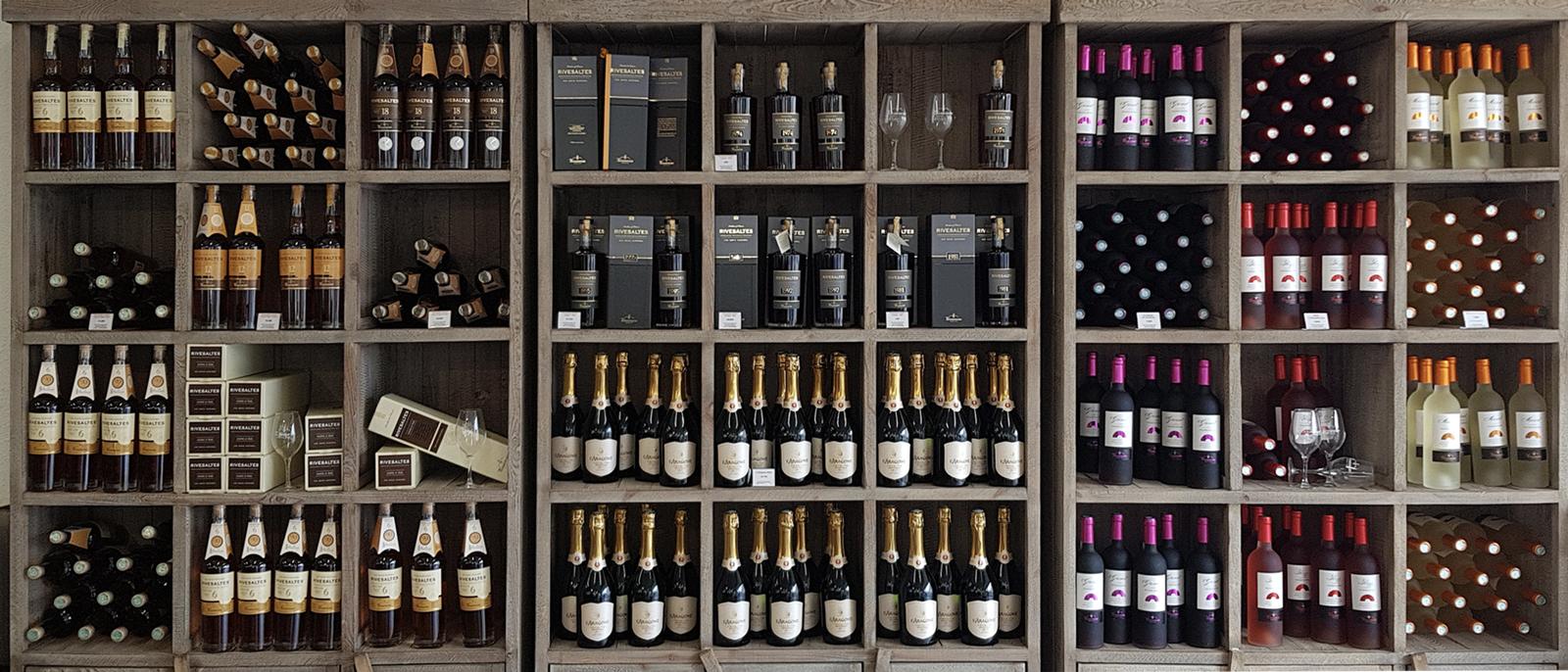 cave à vin des vignobles Terrassous Ceret