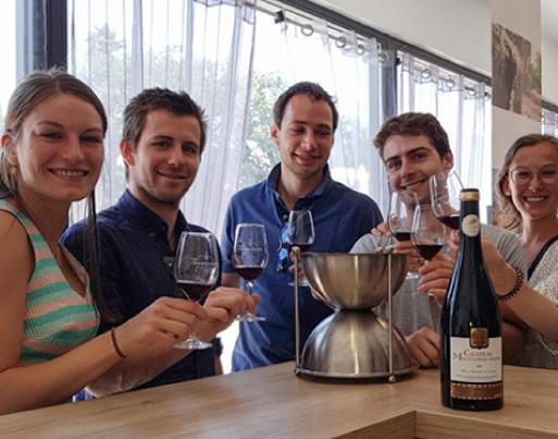 Dégustation des vins du Terrassous