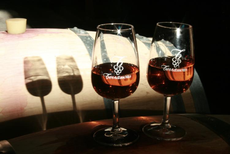 dégustation de vin doux naturel
